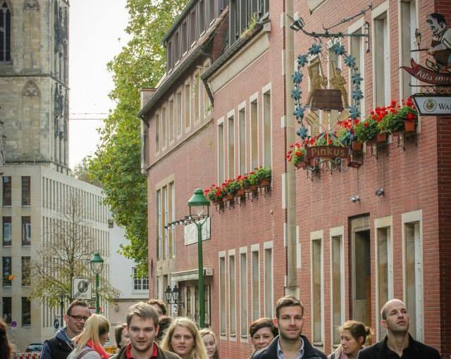 Besuch der Charterfeier in Münster