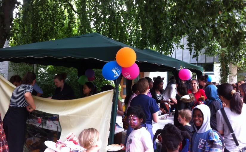 Unterstützung beim Sommerfest der Arche