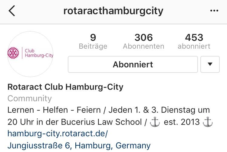 Kino und Vortrag / Hamburg-City auf Instagram